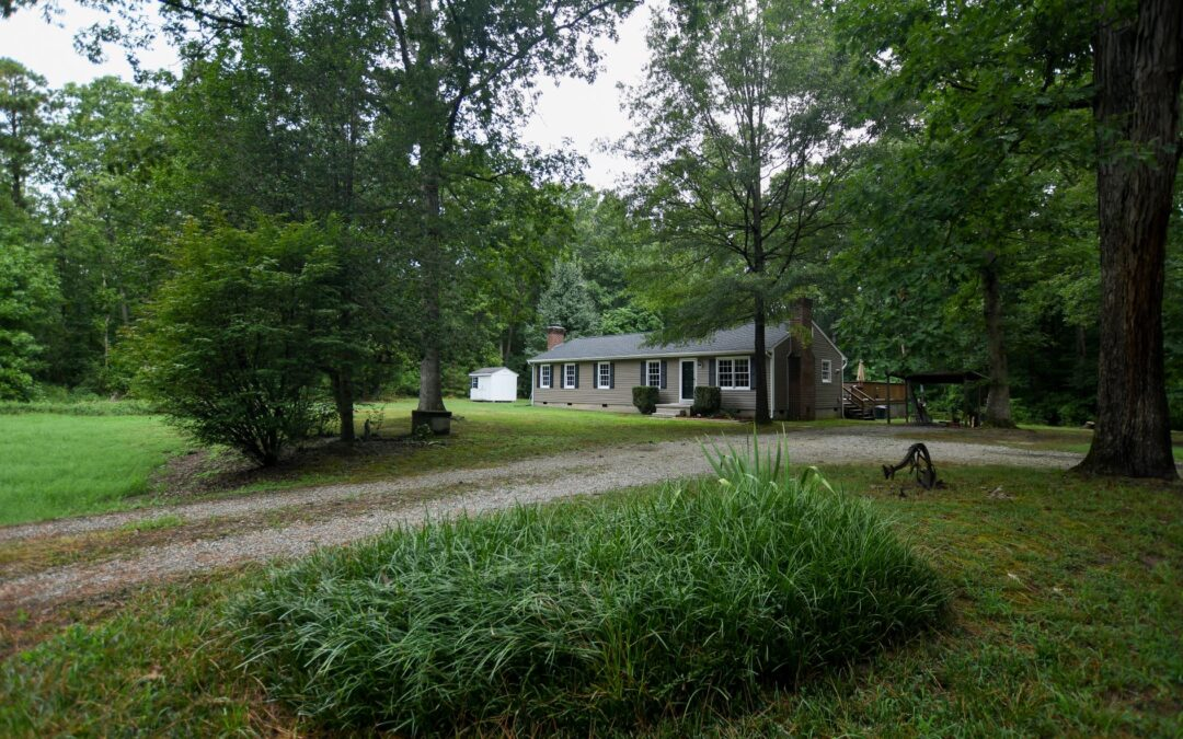 Contract in 2 days! Rare Find! 4 Bedroom Rancher on 5 acres!