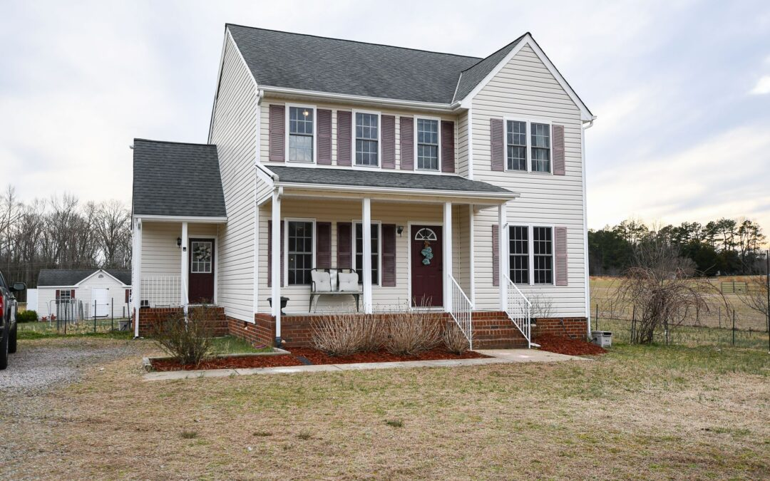 Under Contract in just 2 Days! Colonial style home on 5+acre parcel-$299,950