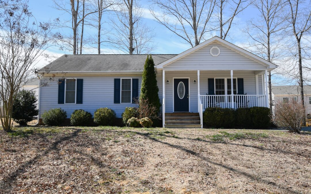 Under Contract in one Day! Rancher with Open Floor Plan-$209,000